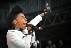 Janelle Monae // Photo by Chris Jorgensen