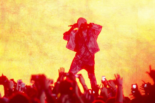 Kanye West // Photo by Ben Kaye