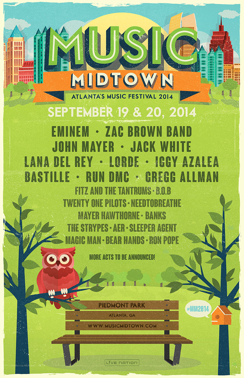 music midtown 2014