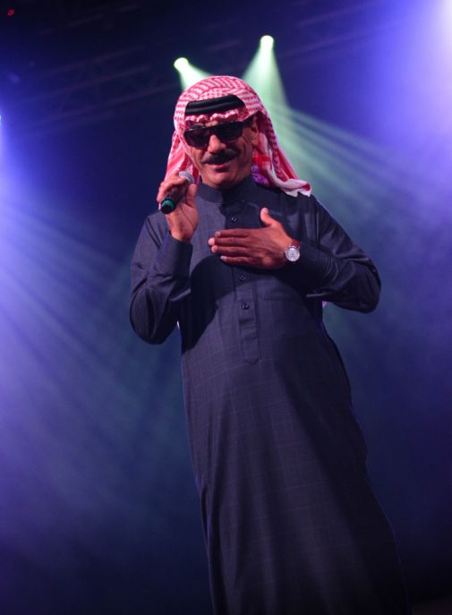 Omar Souleyman // Photo by Chris Jorgensen