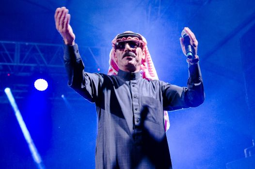 Omar Souleyman // Photo by Ben Kaye