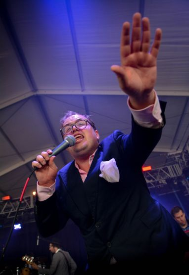 St. Paul and the Broken Bones // Photo by Chris Jorgensen