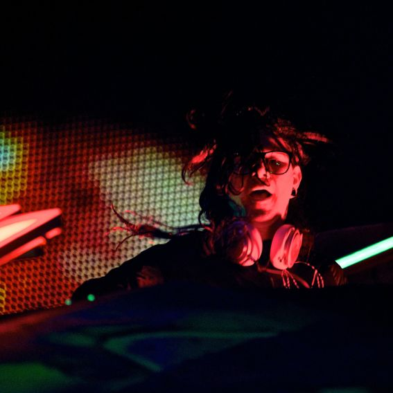 Skrillex // Photo by Robert Altman