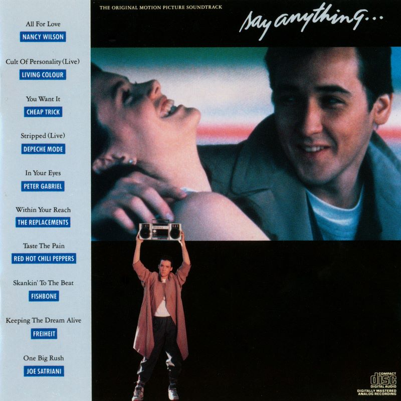 say anything soundtrack How Peter Gabriel Saved Lloyd Dobler and Teenagers Forever