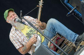Seasick Steve w/ John Paul Jones // Photo by Ben Kaye