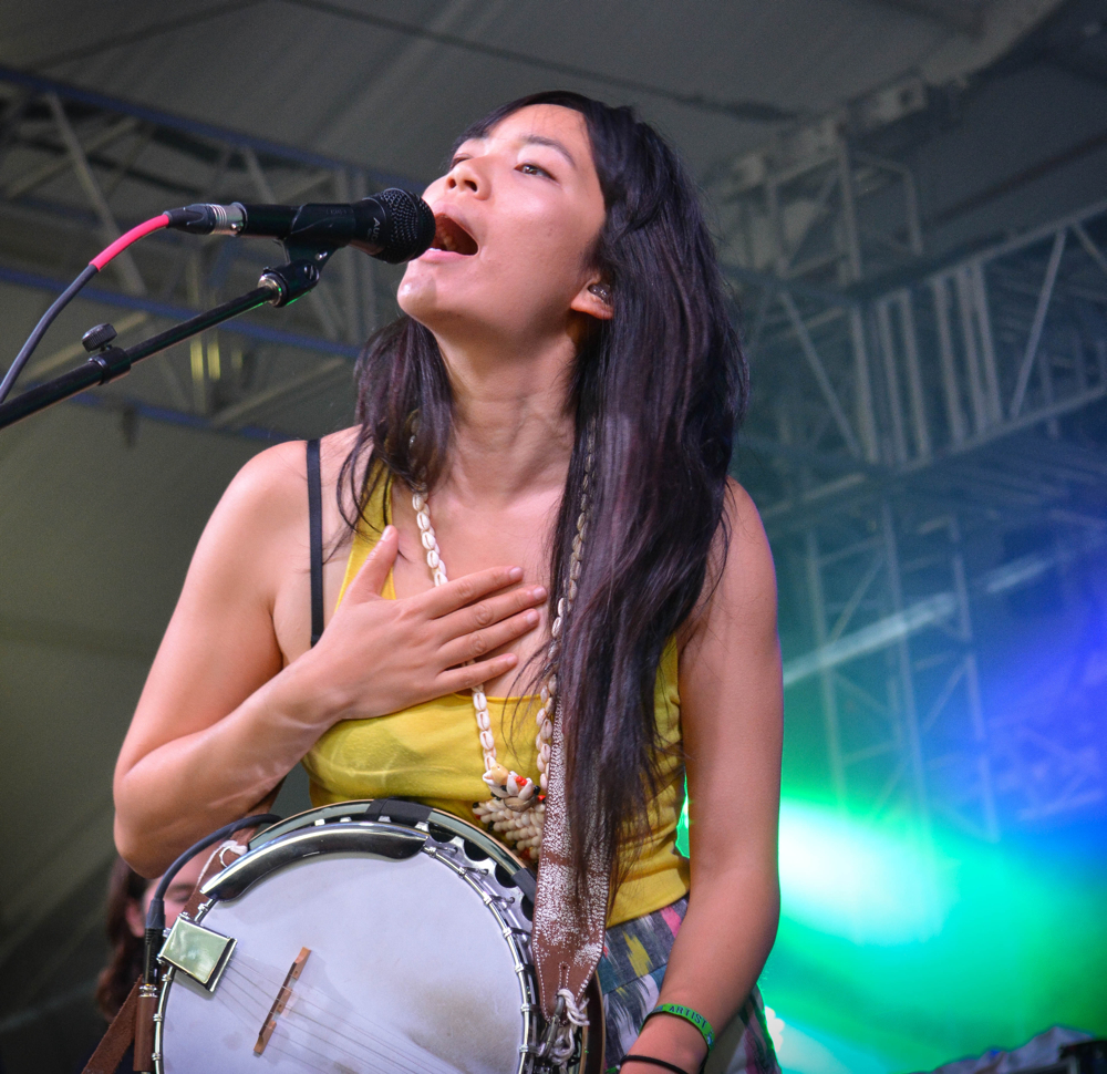 Thao and the Get Down Stay Down // Photo by Chris Jorgensen
