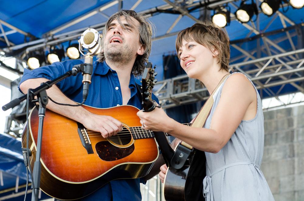 Anais Mitchell and Jefferson Hamer // Photo by Ben Kaye
