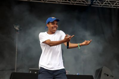 Earl Sweatshirt // Photo by Kris Lenz