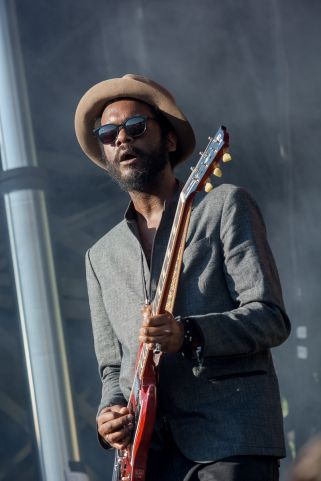 Gary Clark Jr. // Photo by Kayley Luftig