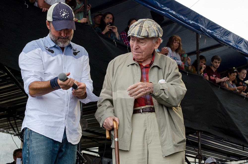 Jay Sweet and George Wein // Photo by Ben Kaye