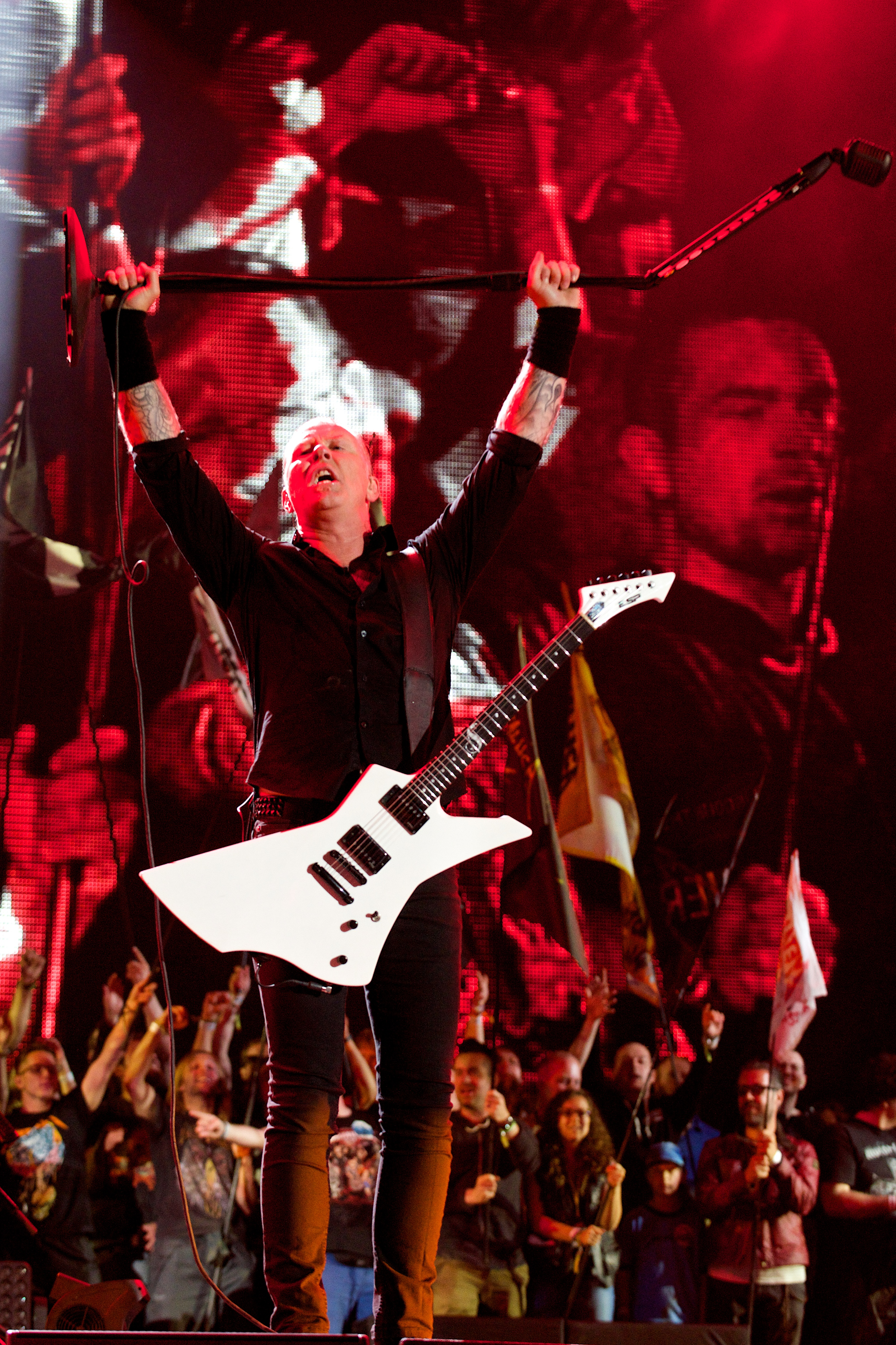 Metallica // Photo by Nathan Dainty