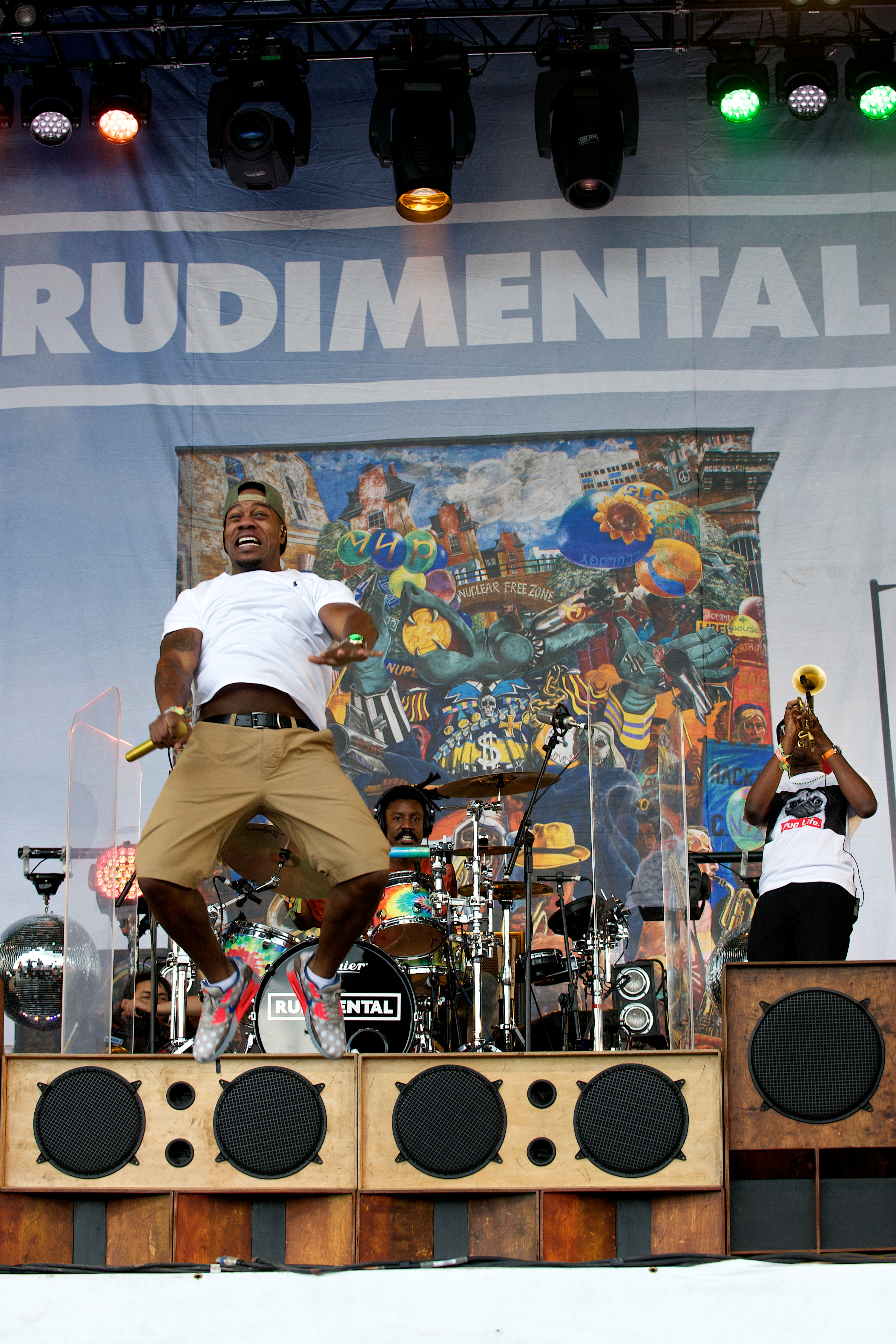 Rudimental // Photo by Nathan Dainty