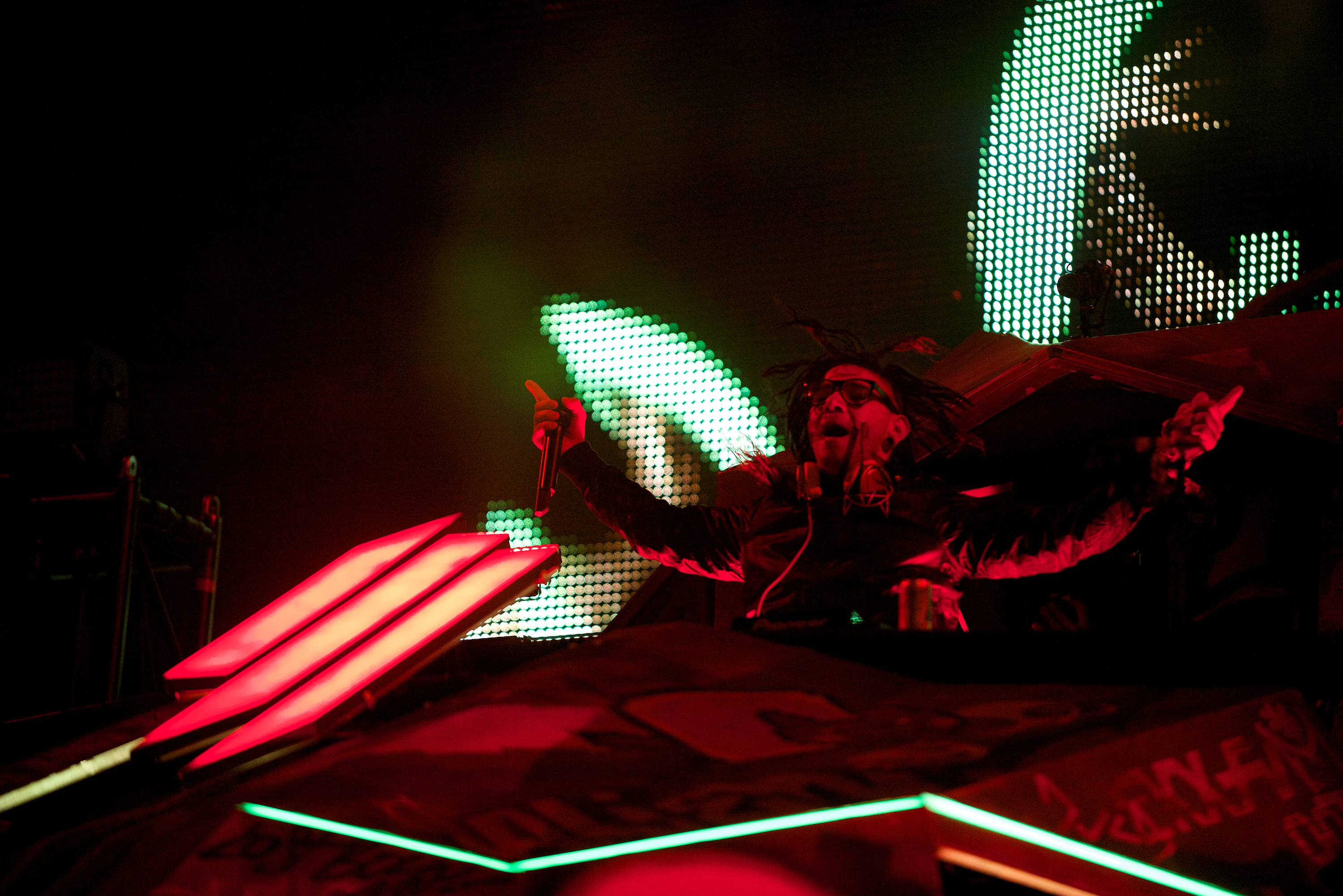 Skrillex // Photo by Nathan Dainty