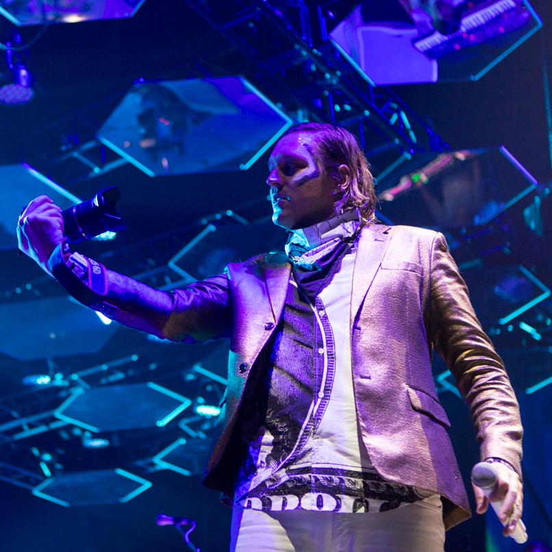 Arcade Fire // Photo by Philip Cosores