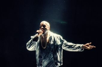 Kanye West // Photo by Joshua Mellin