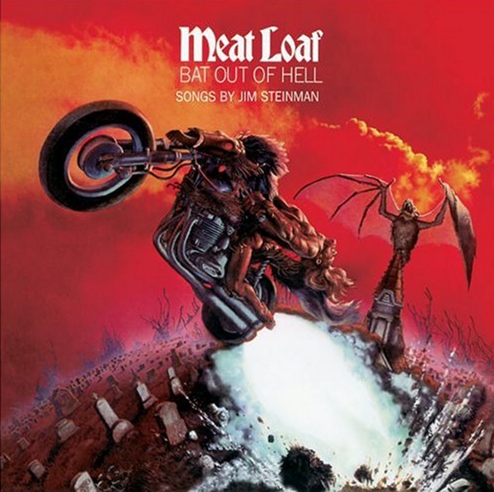 meat loaf bat out of hell The 100 Greatest Albums of All Time