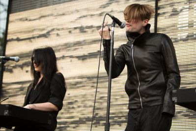 Cold Cave // Photo by Philip Cosores