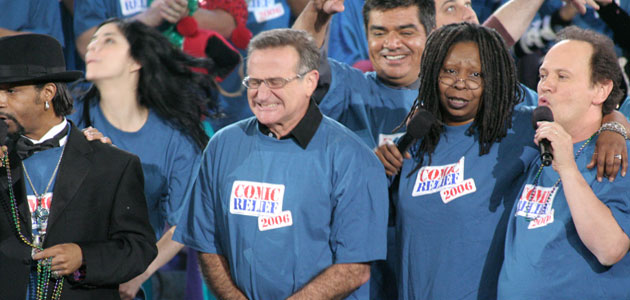robin williams comedy relief A Goodbye to Robin Williams