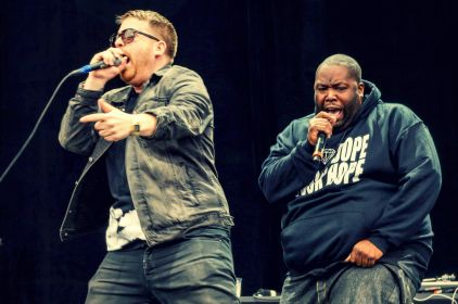 Run The Jewels // Photo by Joshua Mellin