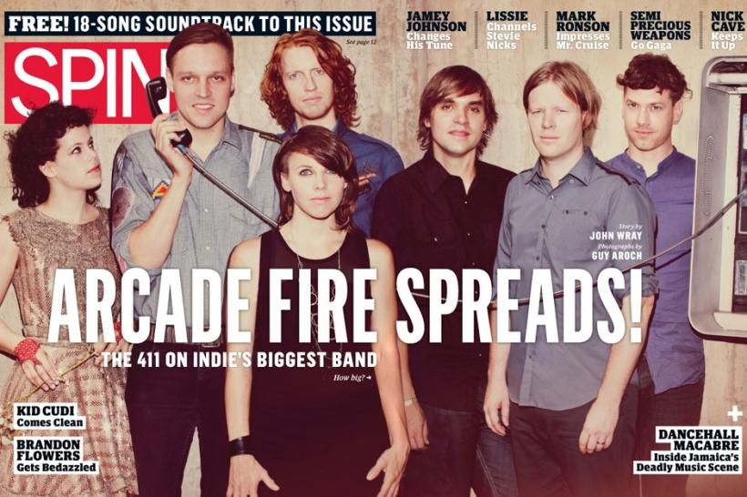 arcade fire spin