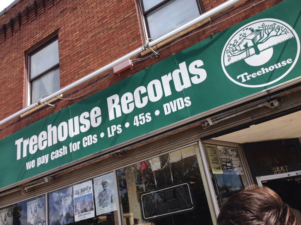 Treehouse Records // Photo by Michael Roffman