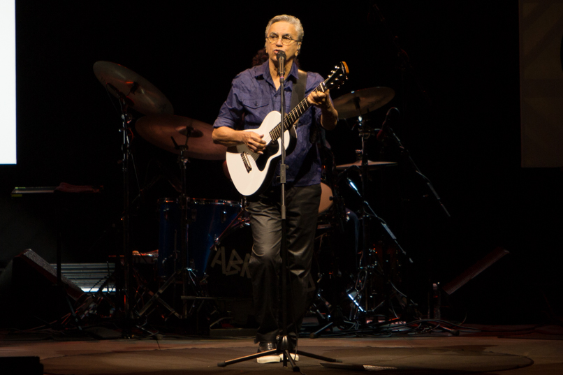 Caetano Veloso // Photo by Philip Cosores