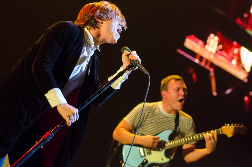 cagetheelephant benkaye brooklynbarclayscenter 1 The Forecastle Festival: Getting Real Lucky in Kentucky