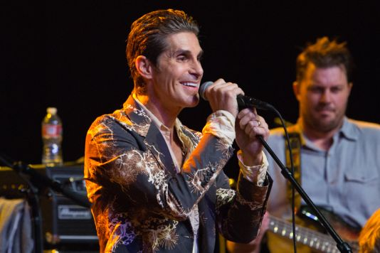 Perry Farrell // Photo by Philip Cosores
