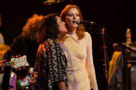 Norah Jones and Karen Elson // Photo by Philip Cosores