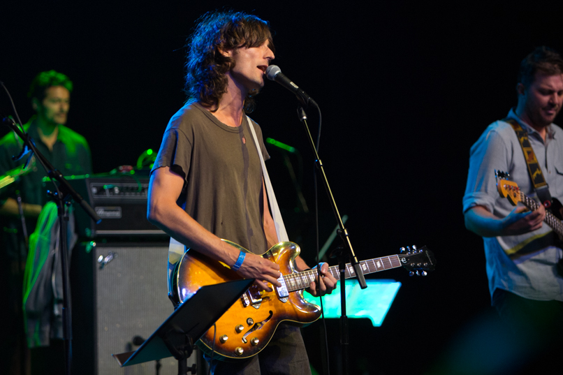 Nick Valensi of The Strokes // Photo by Philip Cosors