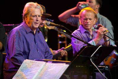 Brian Wilson and Al Jardine // Photo by Philip Cosores