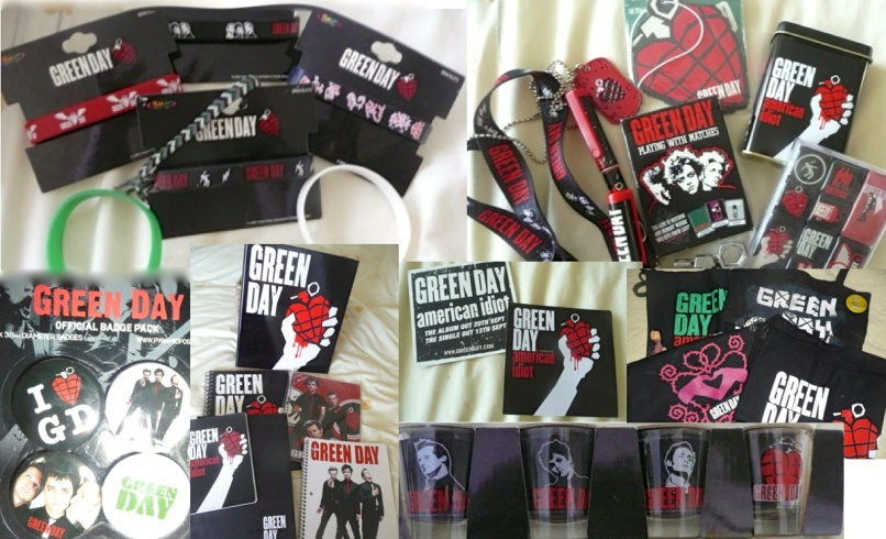 greenday merch Green Days American Idiot Turns 10