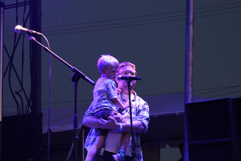 Josh Modell & Son // Photo by Steven Arroyo