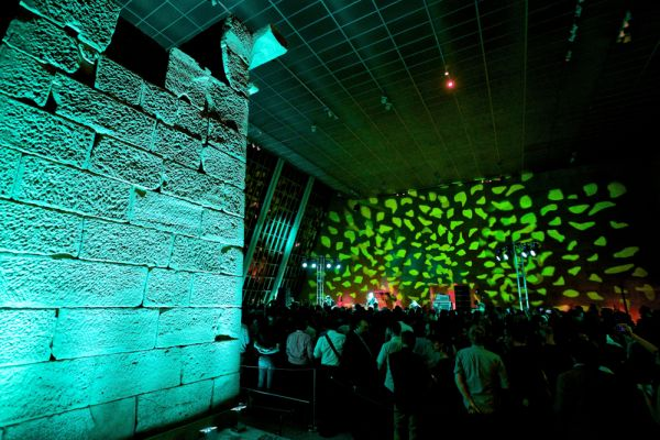 Live Review: Interpol at Met's Temple of Dendur in NYC (9/2