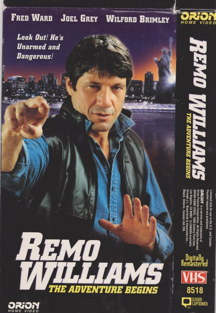 remo williams vhs Remake This! Remo Williams: The Adventure Begins