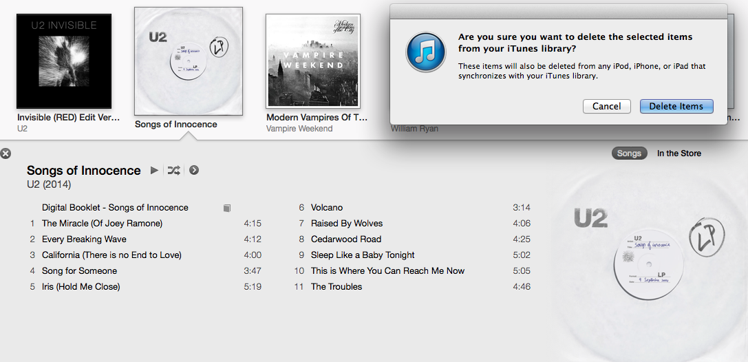 Here's how to remove U2's new album from your iPhone