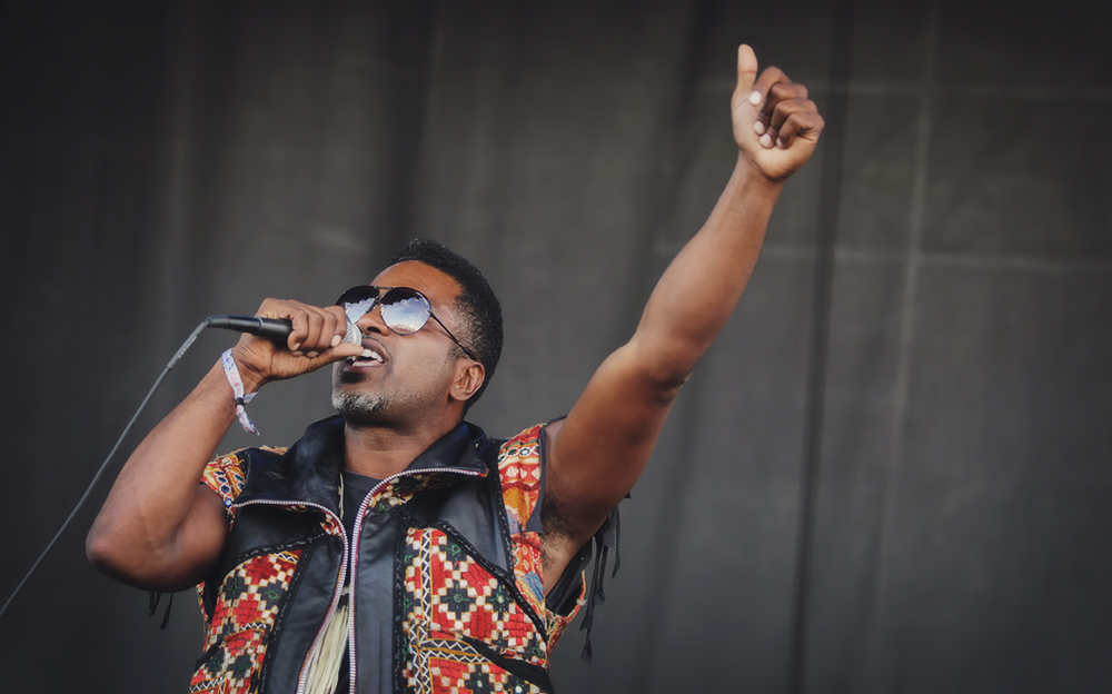 Shabazz Palaces // Photo by Autumn Andel