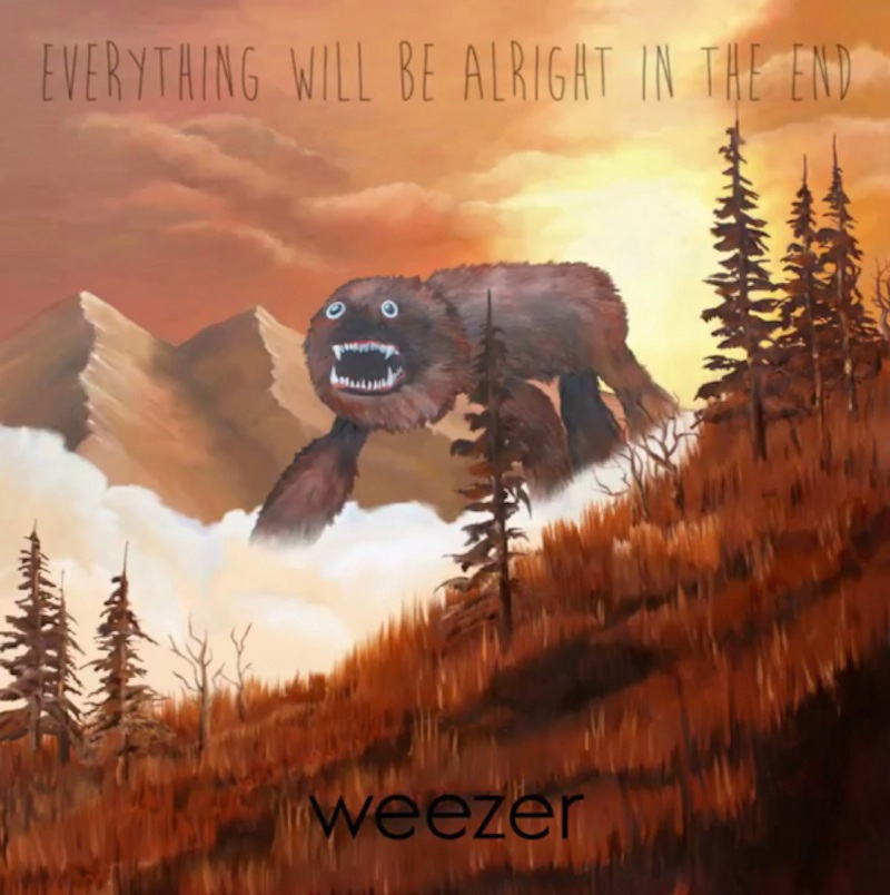 weezer albumart Weezer: Everythings Alright