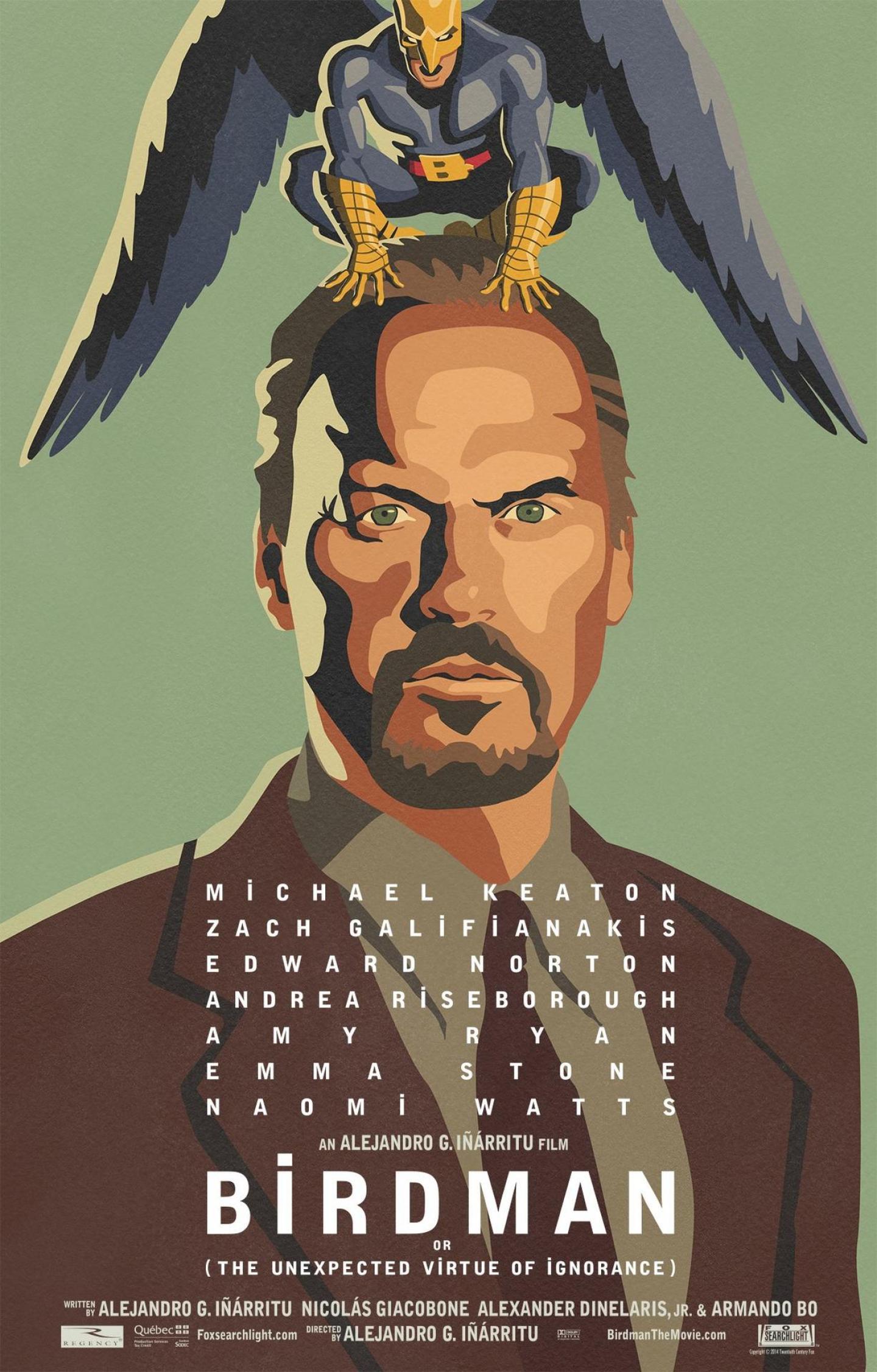 birdman1 Top 25 Films of 2014