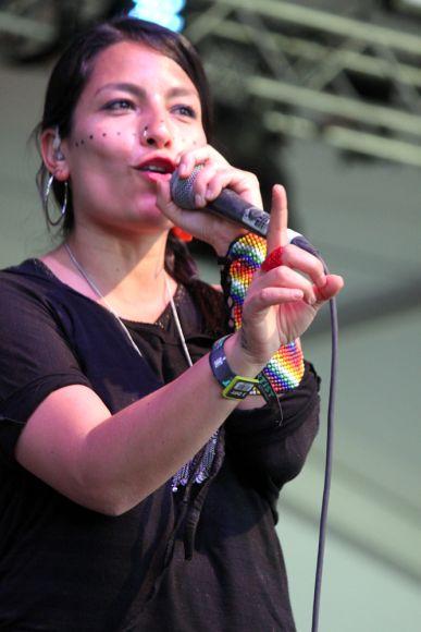 Ana Tijoux // Photo by Heather Kaplan