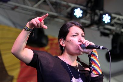 Ana Tijoux // Photo by Heather Kaplan