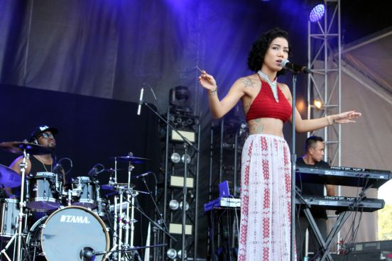 Jhene Aiko // Photo by Heather Kaplan