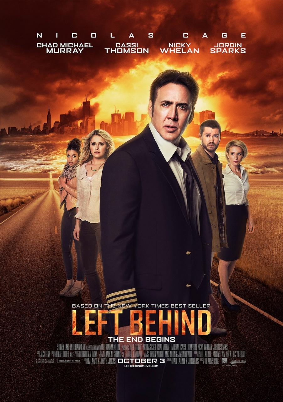 left behind poster1 Film Is Risen: A Discussion of Religion in the Movies
