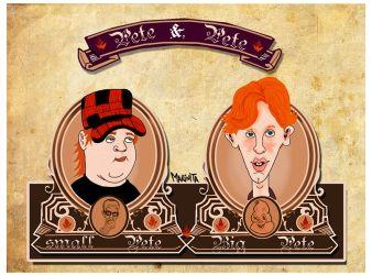 """""""Pete and Pete"""" by Makinita Silva"""