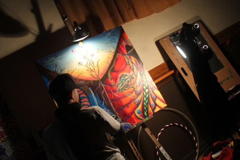 painting The Drop, Vol. 6: Erol Alkan, Anoraak, Phutureprimitive, and Will Runzel