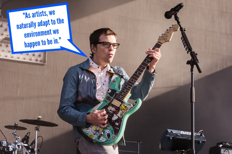 rivers cuomo 1 Weezer: Everythings Alright