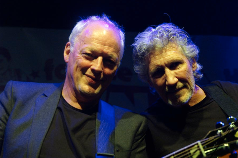 David Gilmour Roger Waters Pink Floyd