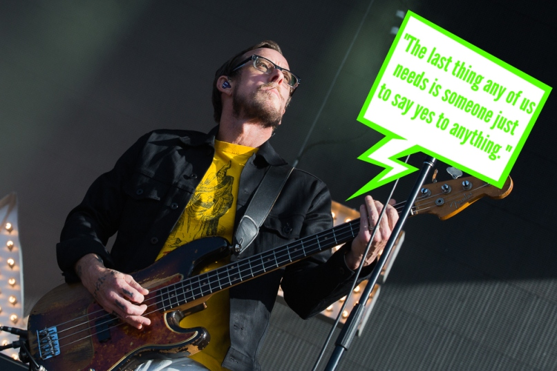 shriner quote 1 Weezer: Everythings Alright