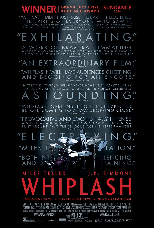 whiplash poster The 10 Best Sundance to Oscar Graduates