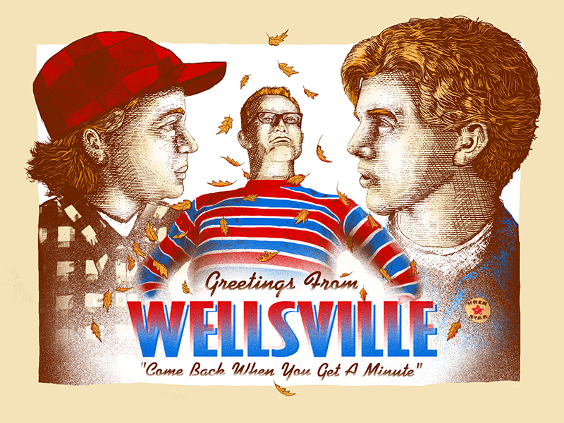 """Greetings From Wellsville"" by Zeb Love"